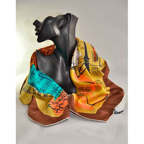 Jacques-Griffe-Paris-1950sFrench--silk-scarf-Paris-scene-01