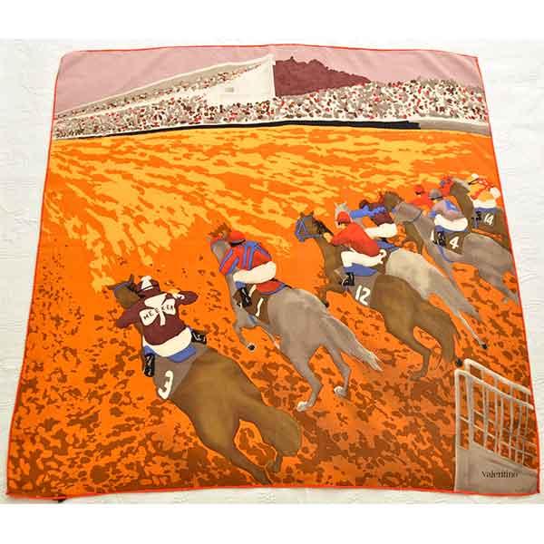 Valentino-designer-silk-scarf-horse-races-06