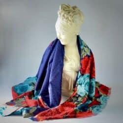 divine style charles jourdan silk shawl