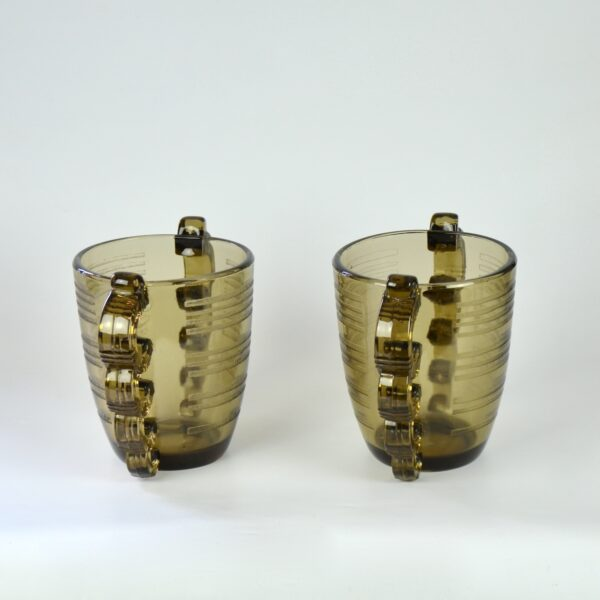 pierre d'avesn art deco vase pair divine style french antiques 3