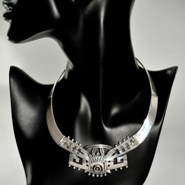 1950s VOD Mexico silver necklace divine style