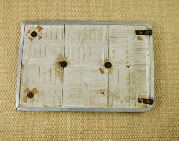 divine style french antiques French vintage utensil rack white tiles 3
