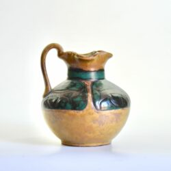 Louis LOURIOUX-Rare-French-art-pottery-enamelled-jug-by-Louis-Lourioux-c1920-09