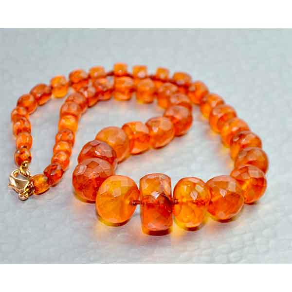 Divine-Style-french-antiques-Antique-faceted-cylindrical-amber-bead-necklace-05