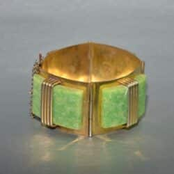 divine style french antiques art deco galalith bracelet 1