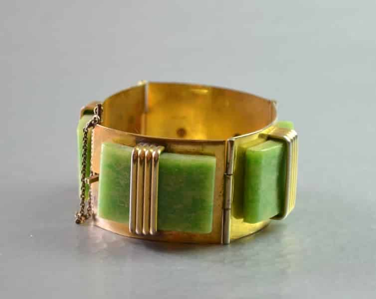 divine style french antiques galalith bracelet