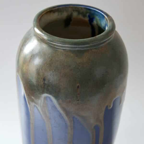 Leon Pointu vase Ecole de Carries Arts & Crafts c1920 3