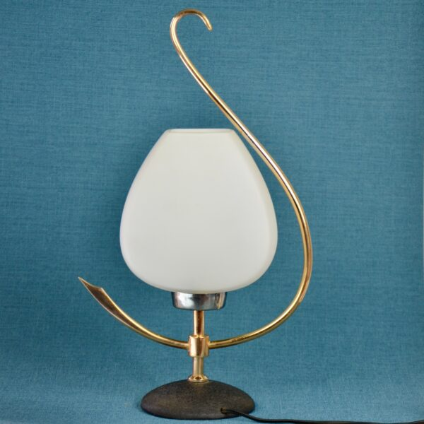 divine style french antiques Arlus 1960s modernist lamp 2
