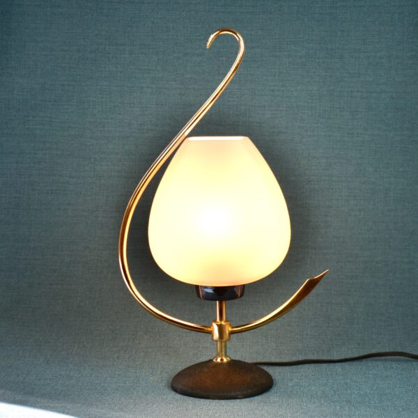 divine style french antiques Arlus 1960s modernist lamp 1