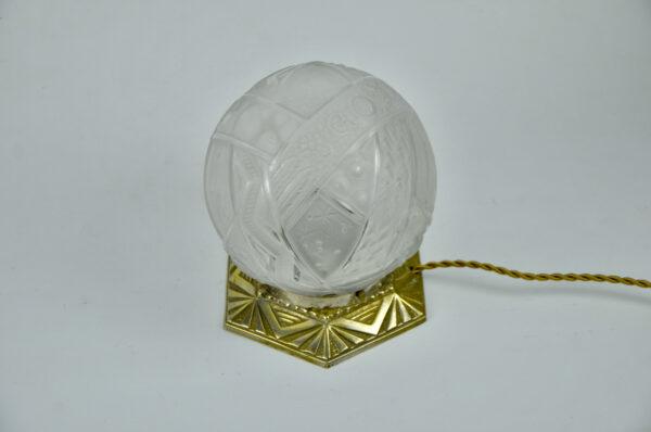 divine style muller freres art deco globe lamp nightlight 2