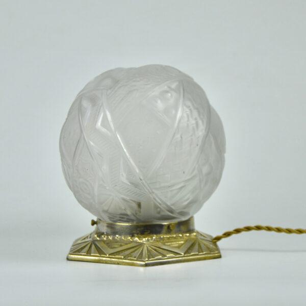 divine style muller freres art deco globe lamp nightlight 3