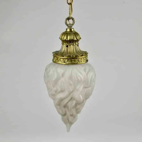divine style french antiques antique bronze light on chain 2