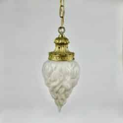 divine style french antiques antique bronze light on chain
