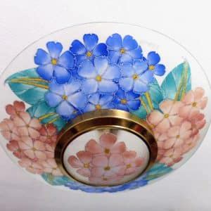 divine style french antiques 1930s enamel light