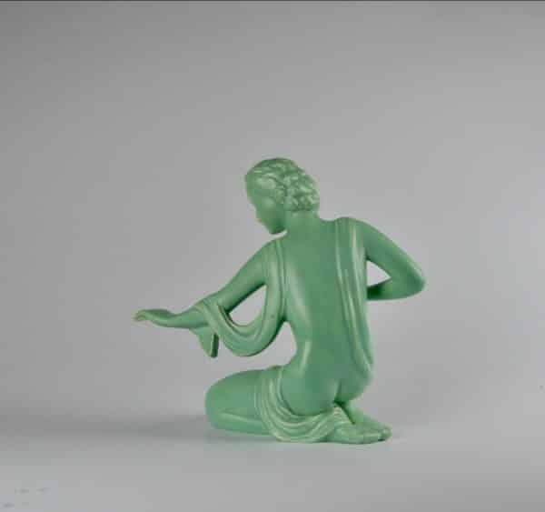 divine style french antiques french art deco statuette kneeling woman 4