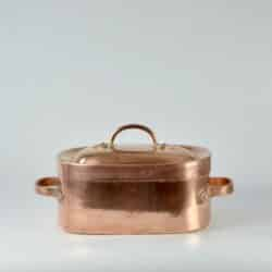 antiques 19th c french copper braiser 5
