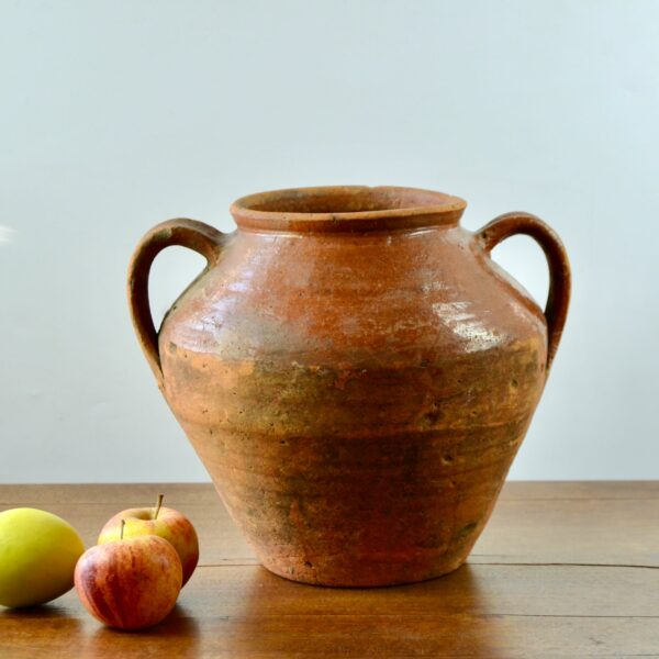 divine style french antique earthenware confit pot 5