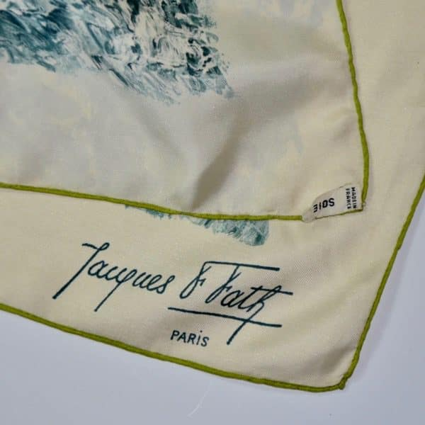 divine style french antiques vintage jaques fath silk scarf4