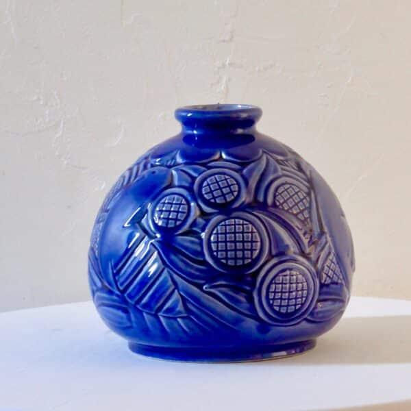 divine style french antiques art deco globe vase st clement 1