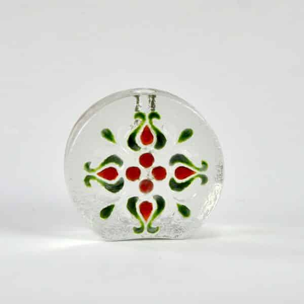 divine style french antiques Walther glass solifleur 1