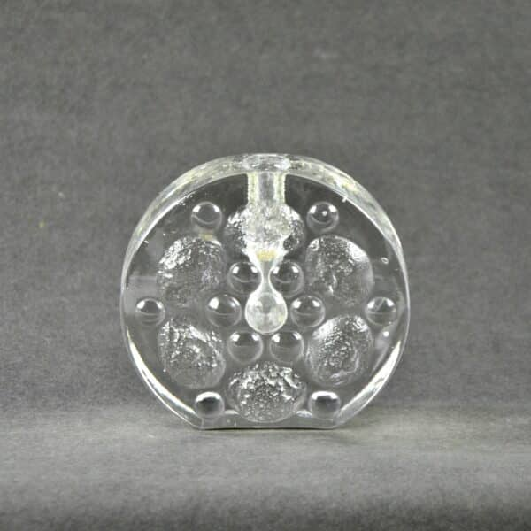 divine style french antiques walther glass bud vase