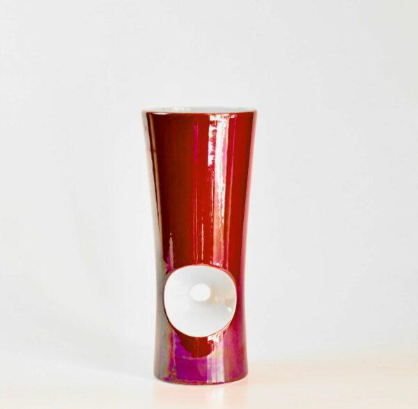 Verceram modernist vase 1960s divine style french antiques b