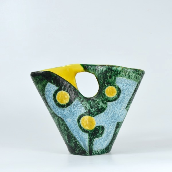 Jacques Sagan Vallauris mid century vase 1950s divine style french antiques Jacques Sagan mid century vase Vallauris 1950s 4
