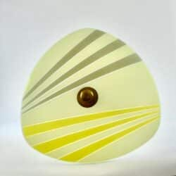 divine style french antiques 1950s modernist light flying saucer 1