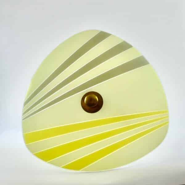 1950s flying saucer light french modernist light divine style french antiques 1