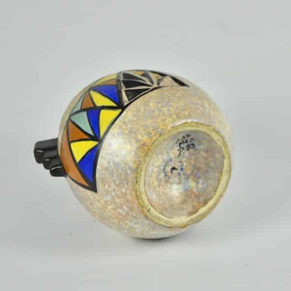 divine style french antiques art deco modernist vase art deco cubist antoine dubois belgium 4