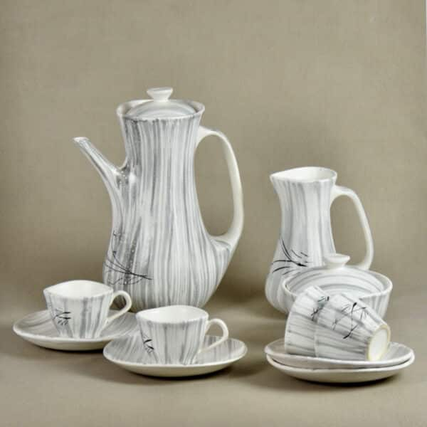 divine style french antiques salins france mid century coffee set