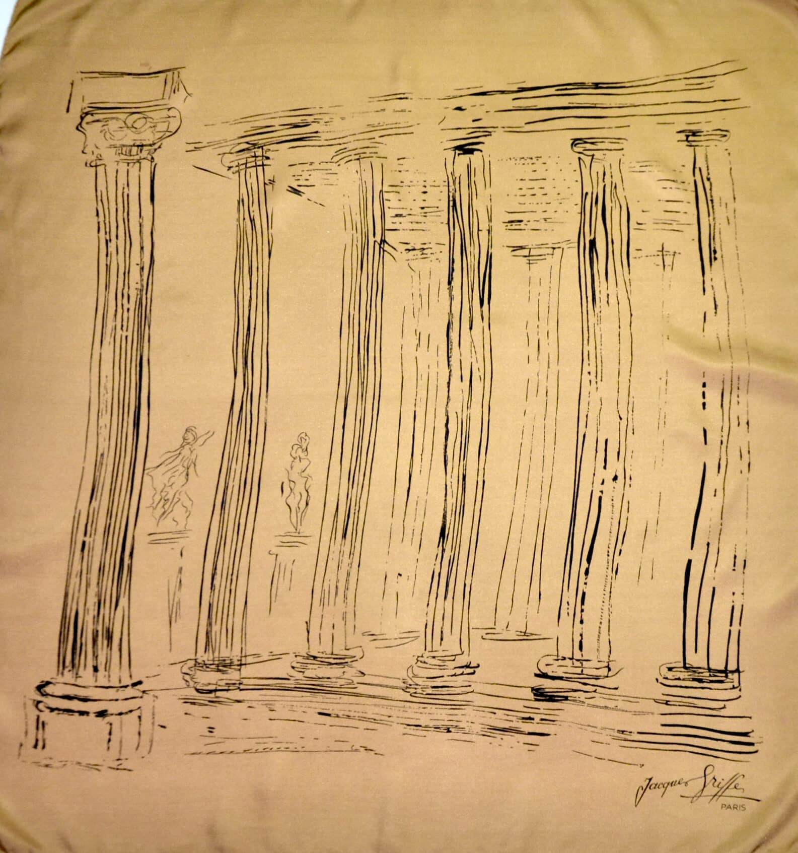 jacques griffe silk scarf grecian 2