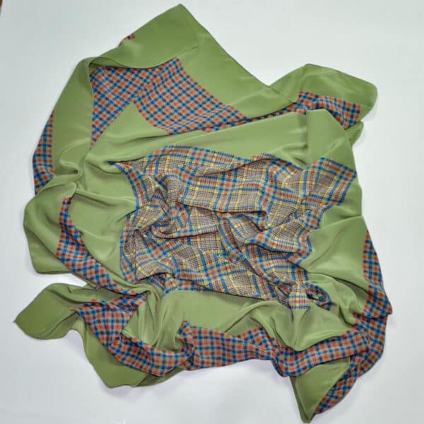 divine style french antiques Christian Dior silk shawl wrap 2