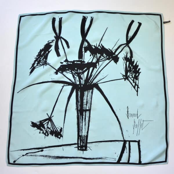 bernard buffet silk scarf divine style french antiques