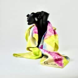 divine style french antiques antonio castillo silk scarf 1960s