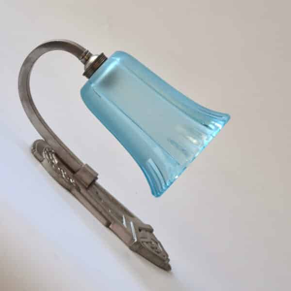 divine style french antiques art deco chrome sconce wall light 2