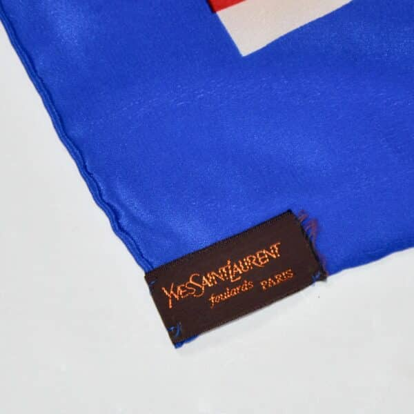 divine style french antiques ysl yves saint laurent scarf 1970s 2