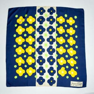 jacques fath silk scarf 1960s divine style french antiques 3