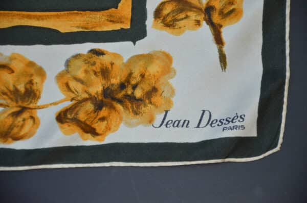 jean desses 1950s picture scarf divine style french antiques 2
