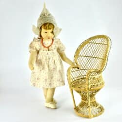 french raynal doll 1930s lenci style
