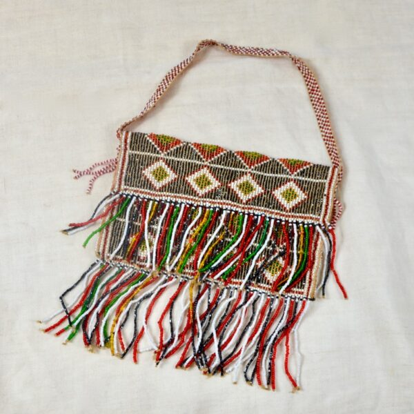 divine style french antiques french beaded flapper purse bag 1930s