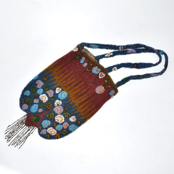 divine style french antiques antique beaded reticule purse c1910