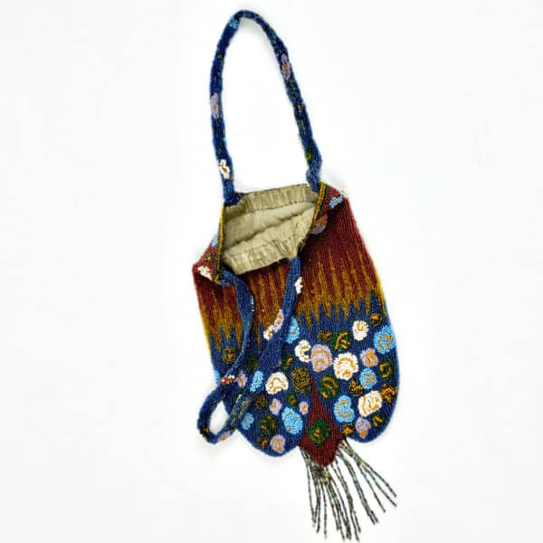 divine style french antiques antique beaded reticule purse c1920 2