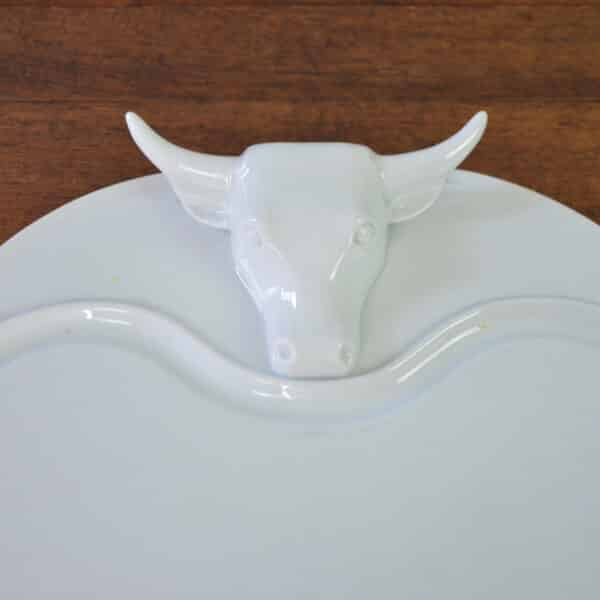 divine style french antiques 1930s Limoges porcelain meat platter art deco 1