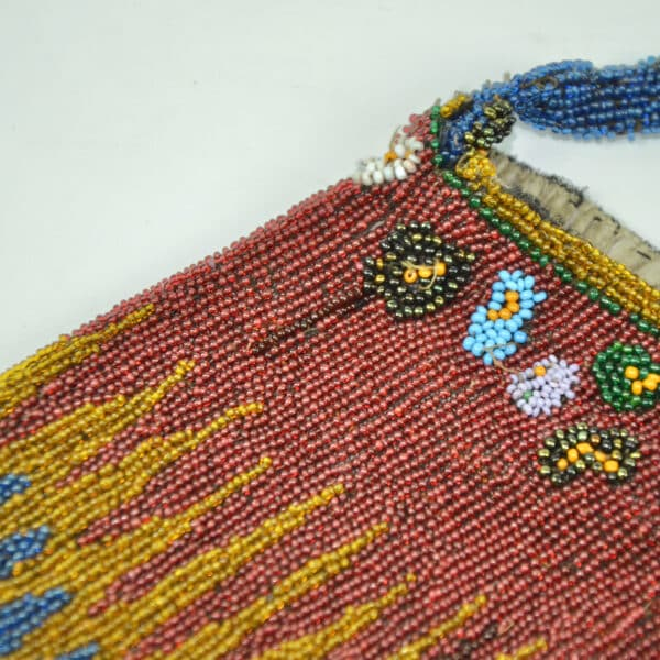 divine style french antiques antique beaded reticule purse c1910 4