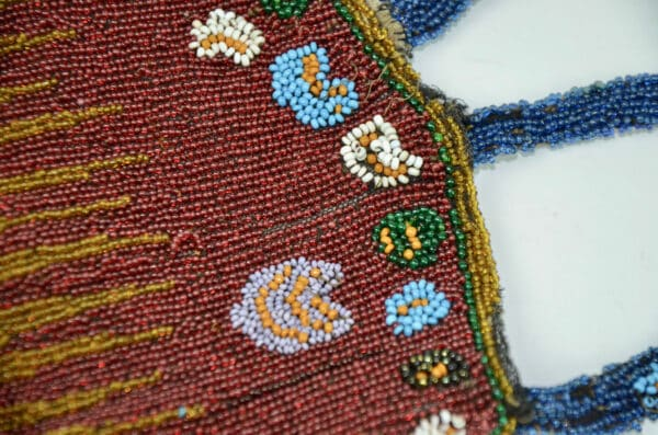 divine style french antiques antique beaded reticule purse c1910 5