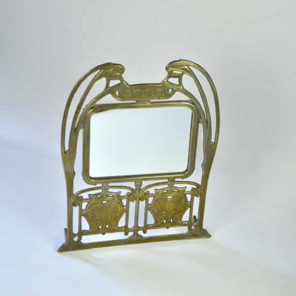 divine style french antiques Hector Guimard Paris Metro mirror 1