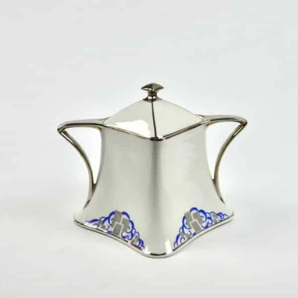 divine style french antiques Lanternier Limoges Art Deco Tea Coffee 2