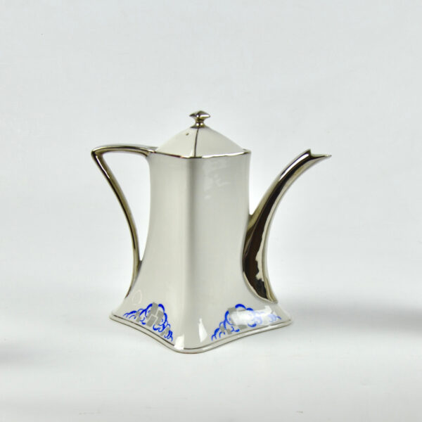 divine style french antiques Lanternier Limoges Art Deco Tea Coffee 4