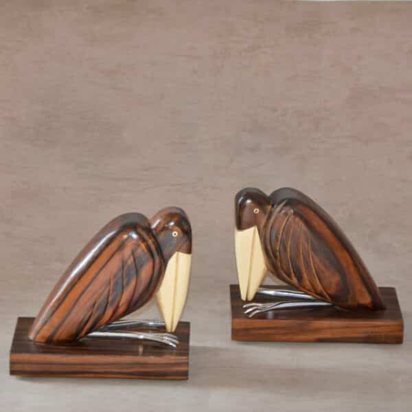 divine style french antiques french art deco bookends birds